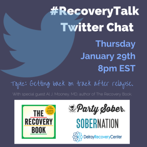 #RecoveryTalk Twitter Chat (1)